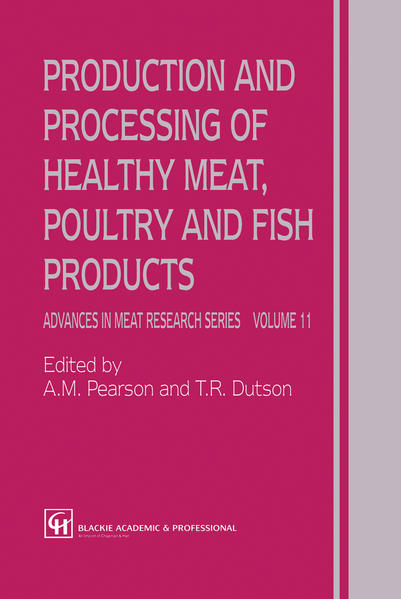 Production and Processing of Healthy Meat, Poultry and Fish Products - Coverbild