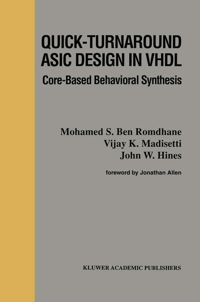 Quick-Turnaround ASIC Design in VHDL - Coverbild