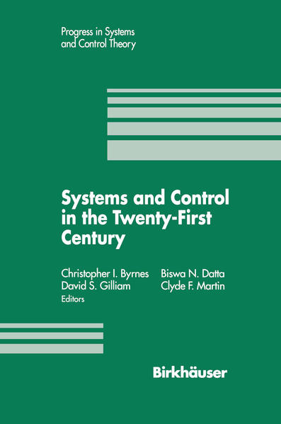 Systems and Control in the Twenty-First Century - Coverbild