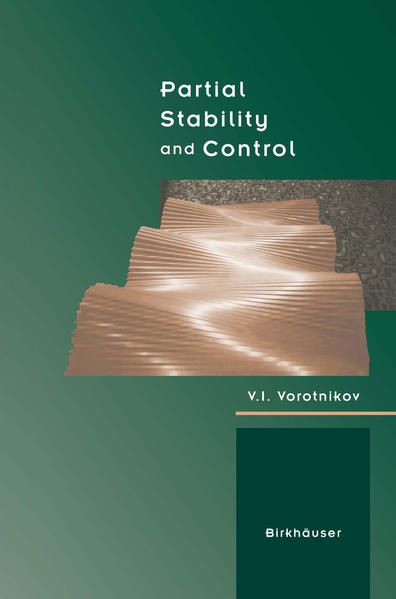Partial Stability and Control - Coverbild