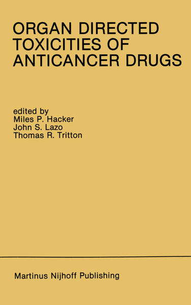 Organ Directed Toxicities of Anticancer Drugs - Coverbild
