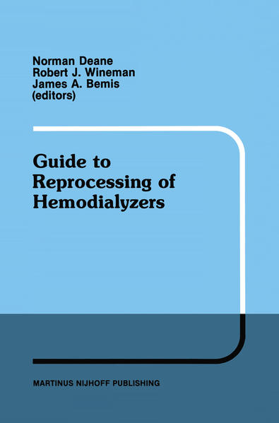 Guide to Reprocessing of Hemodialyzers - Coverbild