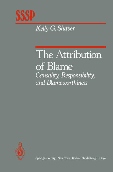 The Attribution of Blame - Coverbild