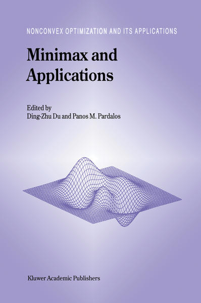 Minimax and Applications - Coverbild