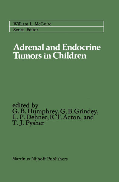 Adrenal and Endocrine Tumors in Children - Coverbild