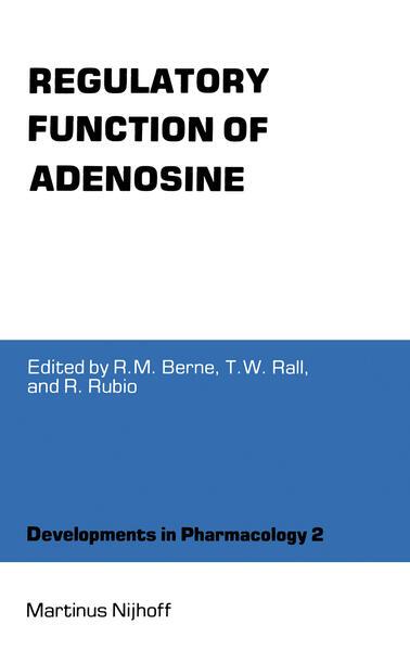 Regulatory Function of Adenosine - Coverbild
