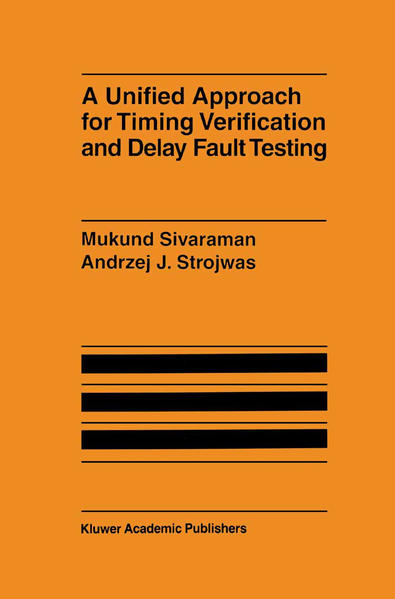 A Unified Approach for Timing Verification and Delay Fault Testing - Coverbild