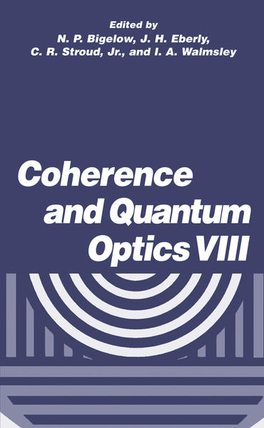 Coherence and Quantum Optics VIII - Coverbild