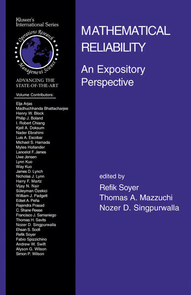 Mathematical Reliability: An Expository Perspective - Coverbild
