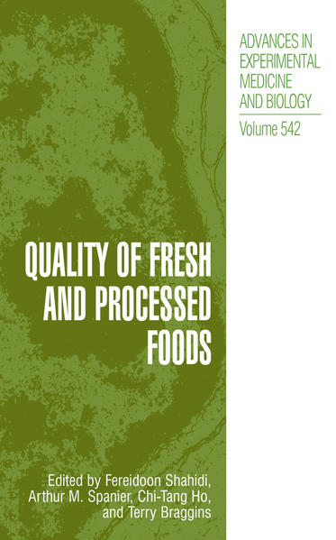 Quality of Fresh and Processed Foods - Coverbild