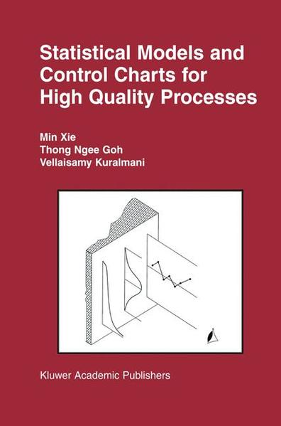 Statistical Models and Control Charts for High-Quality Processes - Coverbild