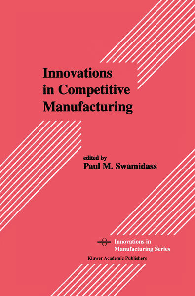 Innovations in Competitive Manufacturing - Coverbild