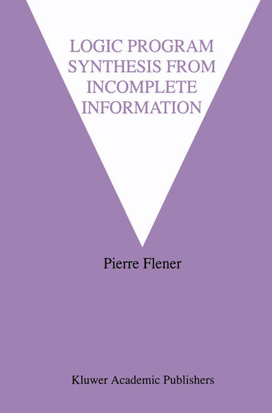 Logic Program Synthesis from Incomplete Information - Coverbild