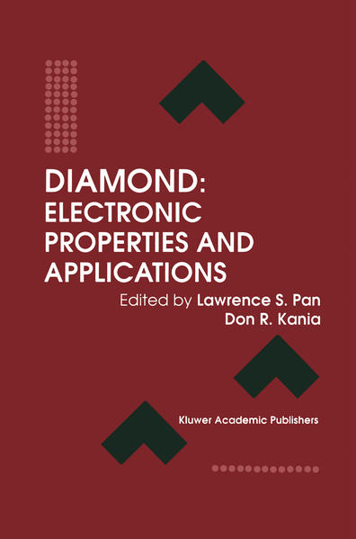 Diamond: Electronic Properties and Applications - Coverbild