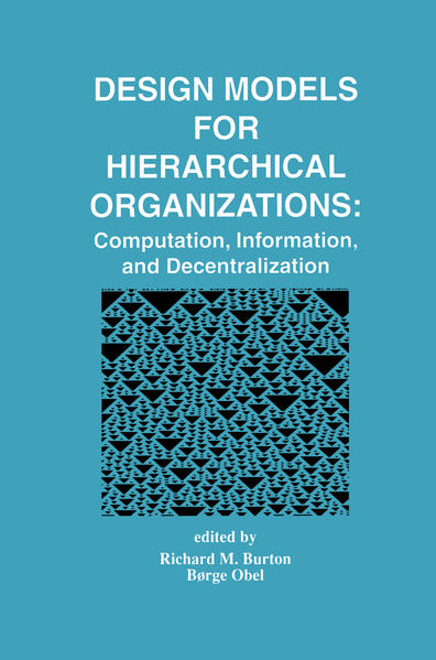 Design Models for Hierarchical Organizations - Coverbild