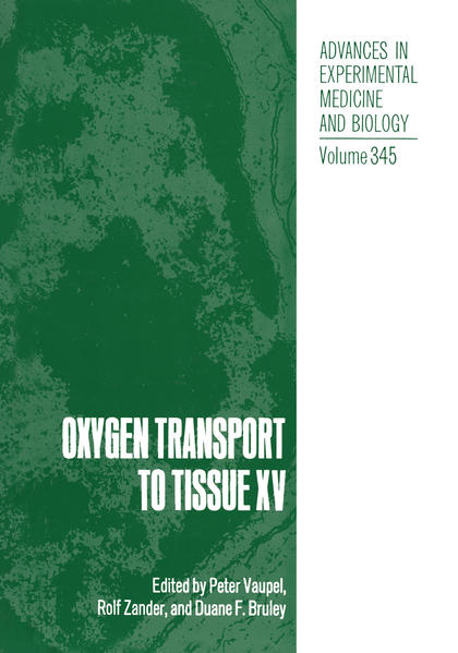 Oxygen Transport to Tissue XV - Coverbild