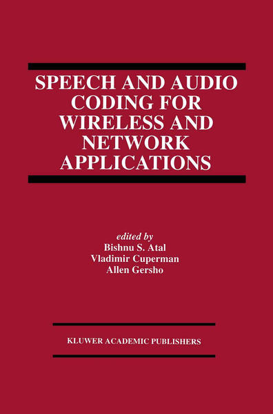 Speech and Audio Coding for Wireless and Network Applications - Coverbild