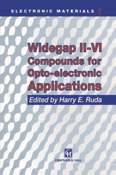 Widegap II–VI Compounds for Opto-electronic Applications - Coverbild