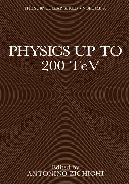 Physics Up to 200 TeV - Coverbild