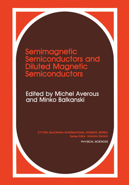 Semimagnetic Semiconductors and Diluted Magnetic Semiconductors - Coverbild