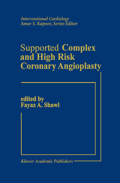 Supported Complex and High Risk Coronary Angioplasty - Coverbild