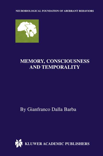 Memory, Consciousness and Temporality - Coverbild
