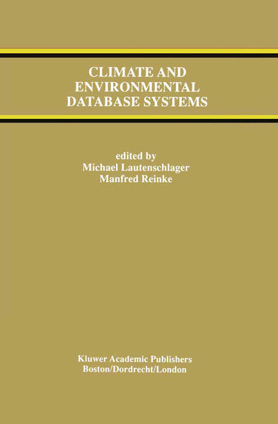 Climate and Environmental Database Systems - Coverbild