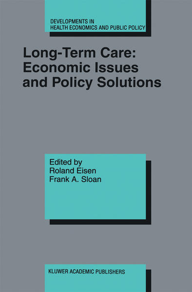 Long-Term Care: Economic Issues and Policy Solutions - Coverbild