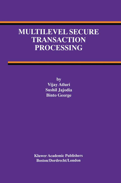 Multilevel Secure Transaction Processing - Coverbild