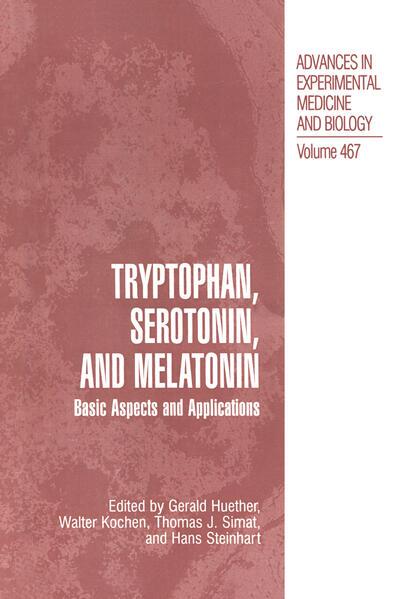 Tryptophan, Serotonin, and Melatonin - Coverbild
