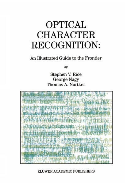 Optical Character Recognition - Coverbild