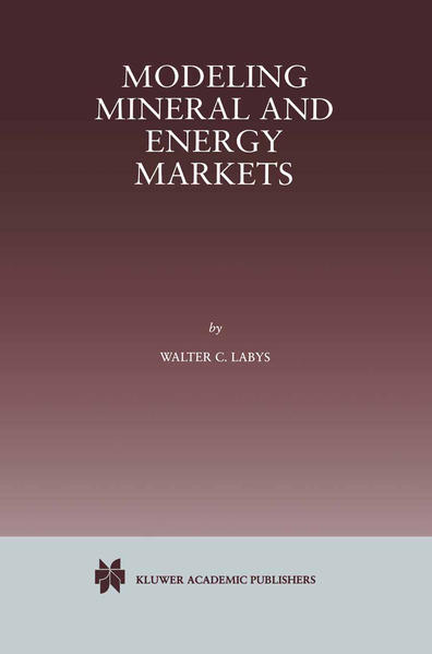 Modeling Mineral and Energy Markets - Coverbild
