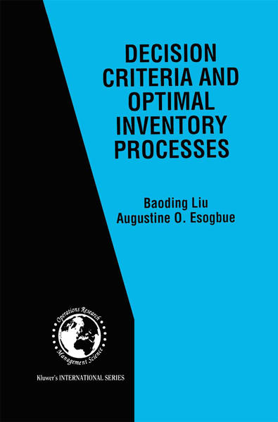 Decision Criteria and Optimal Inventory Processes - Coverbild
