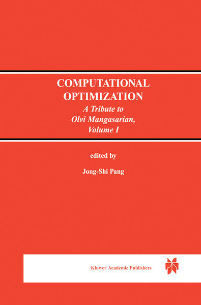 Computational Optimization - Coverbild