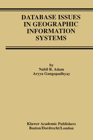 Database Issues in Geographic Information Systems - Coverbild