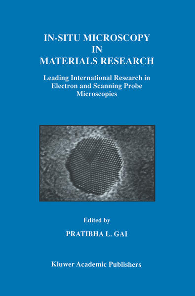 In-Situ Microscopy in Materials Research - Coverbild