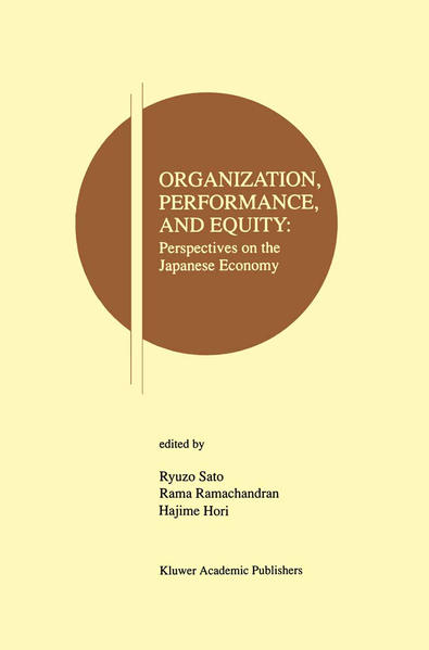 Organization, Performance and Equity - Coverbild
