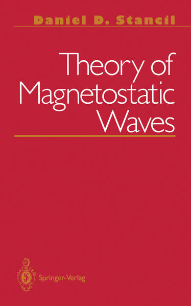 Theory of Magnetostatic Waves - Coverbild