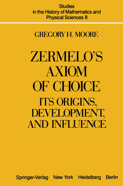 Zermelo's Axiom of Choice - Coverbild