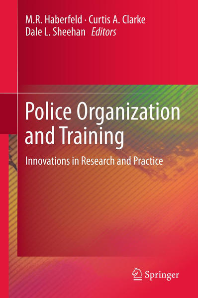 Police Organization and Training - Coverbild