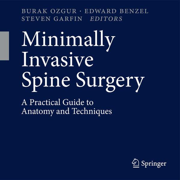Minimally Invasive Spine Surgery - Coverbild