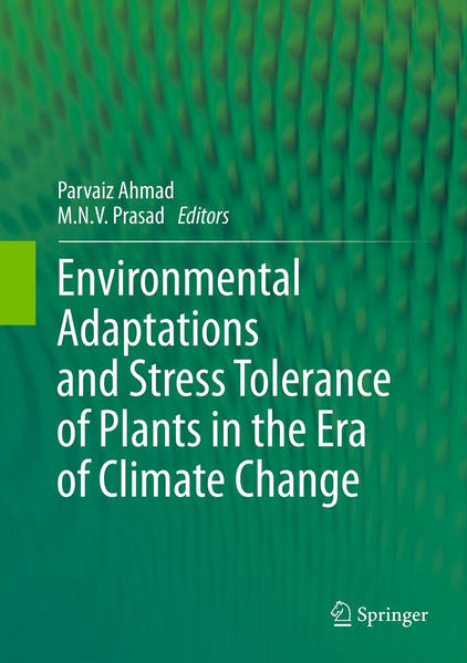 Environmental Adaptations and Stress Tolerance of Plants in the Era of Climate Change - Coverbild