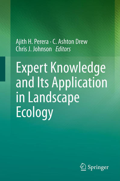 Expert Knowledge and Its Application in Landscape Ecology - Coverbild