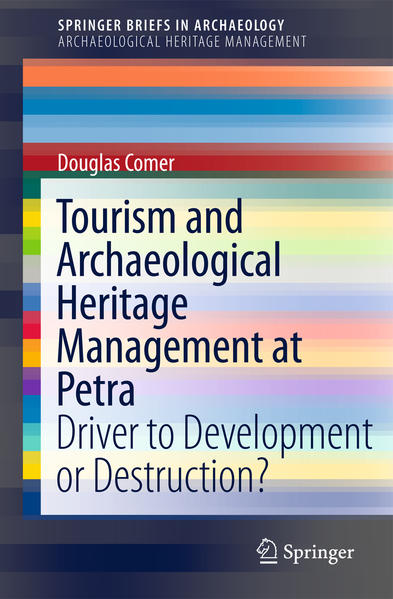 Tourism and Archaeological Heritage Management at Petra - Coverbild