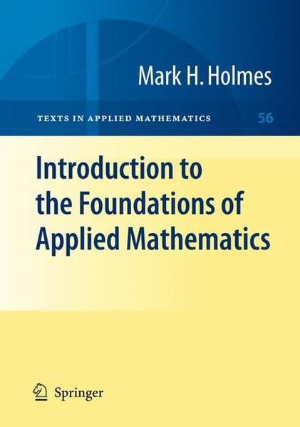 Introduction to the Foundations of Applied Mathematics - Coverbild