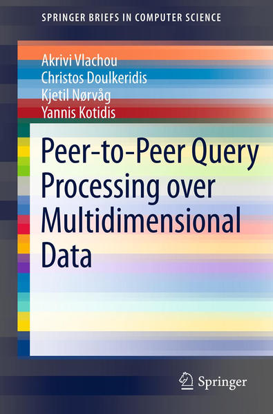 Peer-to-Peer Query Processing over Multidimensional Data - Coverbild