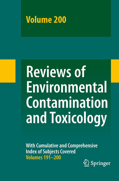 Reviews of Environmental Contamination and Toxicology 200 - Coverbild