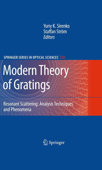 Modern Theory of Gratings - Coverbild