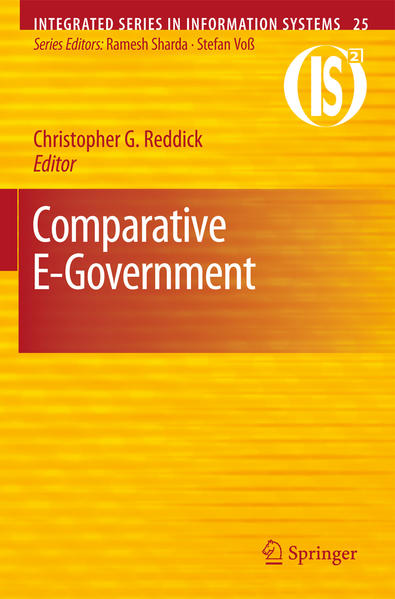 Comparative E-Government - Coverbild