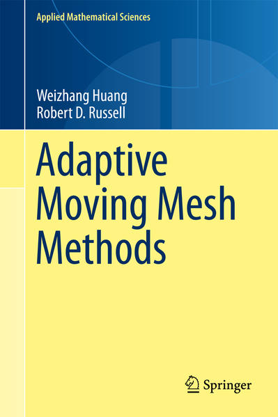 Adaptive Moving Mesh Methods - Coverbild